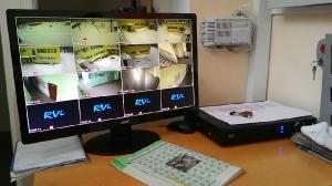 Монтаж системы видеонаблюдения в детском саду № 24
